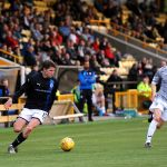 Raith v Dunfermline  - Trialist Kevin Nesbit - credit- Fife Photo Agency