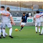 New Bayview - Methil -  Fife -  Raith v Dunfermline  - Ryan Stevenson free kick -  credit- Fife Photo Agency