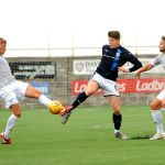 Raith v Dunfermline  - Trialist KevIn Nesbit -credit- Fife Photo Agency