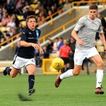 Raith v Dunfermline  -  EUAN VALENTINE - credit- Fife Photo Agency