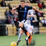 New Bayview - Methil -  Fife -  Raith v Dunfermline  - Ross Matthews -  credit- Fife Photo Agency