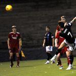 Raith v Aberdeen Colts -CHRIS DUGGAN shot over the bar - credit- Fife Photo Agency