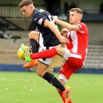 Raith v East Fife -  ROSS MATTHEWS beats Davidson to the ball - credit- Fife Photo Agency