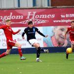Raith v Aberdeen Colts -KEVIN NISBET scores - credit- Fife Photo Agency