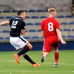 Raith v Aberdeen Colts -Ross Matthews scores - credit- Fife Photo Agency