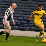 Kevin bears down on the Queens PArk defence at the National Stadium last weekend