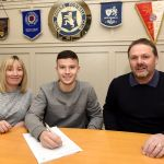 Dylan pens his first Rovers contract