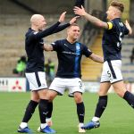 Raith v Montrose -  EUAN MURRAY CELEBRATION - credit- Fife Photo Agency