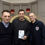 Davie McGurn was presented with a DVD of his testimonial match by RaithTV