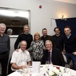 Gordon Arthur, Chris Candlish and the Raith Trust table