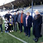 Raith v Airdrie - Match Sponsors New York Sandwich Company - credit- Fife Photo Agency