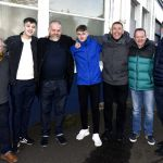 Raith v Airdrie - MacGregor Lounge guests after the game - credit- Fife Photo Agency