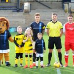 Raith v Dumbarton  - MASCOTS -  credit- Fife Photo Agency