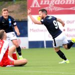Raith v Dumbarton  -  credit- Fife Photo Agency