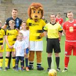 Stark's Park - Kirkcaldy - Fife -  Raith v Brechin  - MASCOTS - credit- Fife Photo Agency