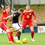 Stark's Park - Kirkcaldy - Fife -  Raith v Brechin  - LIAM BUCHANAN GOAL - credit- Fife Photo Agency