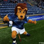 Roary's pre match qwarm up