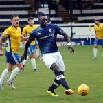 In action v Cowdenbeath