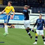 2 Iain Davidson in action