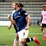 25 Lewis celbrates goal 3 for Raith