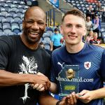 28 MotM Regan hendry with Marv.