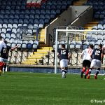 7 Regan Hendry takes the penalty