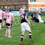 13 Bene goes for an overhead kick