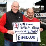 18 50-50 winner Stuart Cowser...AGAIN!