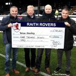 Supporters fund winner Brian Stanley