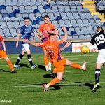 3 John Baird tries a shot on goal