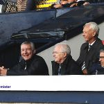 30 They're happy in the Directors box