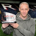 With the League 1 Player of the Month award