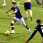 Showing composure on the ball