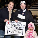 17 50-50 winner David and Maisie Cod