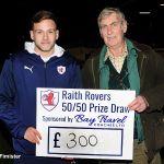 19 50-50 winner Wilie Allan