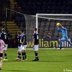 27 Ross stops a free kick