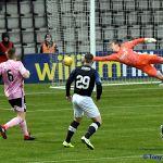 7 John Baird has a shot on goal