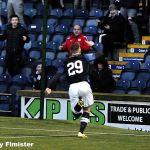 22 John salutes the faithfull fans