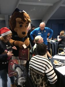 Roary and the coaching staff pay a visit to last years event