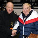 17 Presentation to Jim Mcintosh for his 50-50 ticket sales