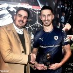 35 Motm award presented to grant by Craig Couser