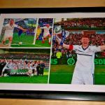 A4 Framed Photo montage from Raith's Ramsdens Cup Final win over Rangers