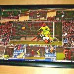 A4 Framed Signed Photo of Lewis Vaughan's hat-trick against Dunfermline in the 2019 Scottish Cup win
