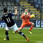 17 Grant Anderson effort on Goal