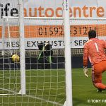 19 Fleming saves the penalty
