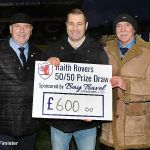 22 50-50 winner  Graeme Dick