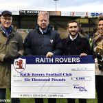 24 The Festive Raffle raised £6000