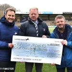 3 SPIRITS OF EXCELLENCE CHEQUE PRESENTATION
