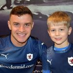 36 ALEXANDER WITH HIS  FAVOURITE PLAYER ROSS MATTHEWS