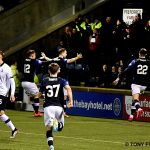9 RAITH GOAL CELEBRATION